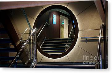 Reflection Stair Canvas Print