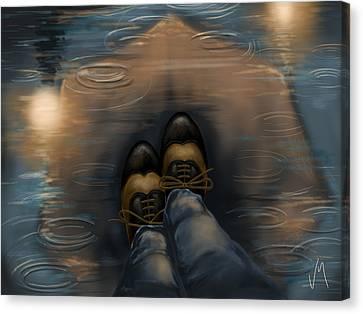 Reflection Canvas Print by Veronica Minozzi