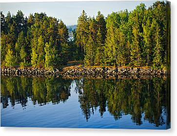 Reflections 1 Sweden Canvas Print by Marianne Campolongo