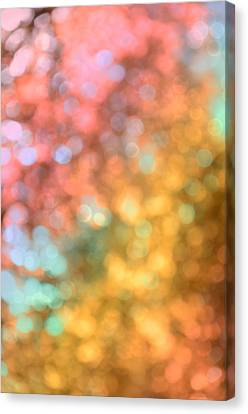 Burnt Umber Canvas Print - Reflections - Abstract  by Marianna Mills