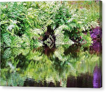 Reflections Canvas Print by Al Fritz