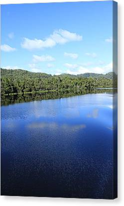 Reflections All Profits Go To Hospice Of The Calumet Area Canvas Print