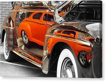 Reflections Canvas Print by Chris Fraser