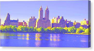 Reflections Canvas Print by Dan Hilsenrath
