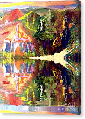 Reflections  Canvas Print by Deborah Montana