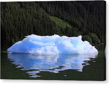 Reflections In The Sea Canvas Print by Shoal Hollingsworth