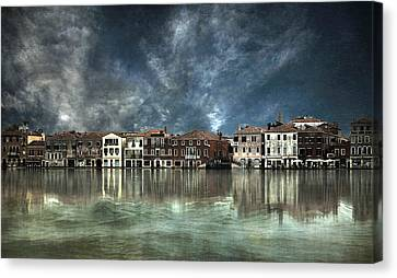 Reflections In Venice Canvas Print