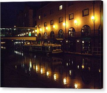 Canvas Print featuring the photograph Reflections by Jean Walker