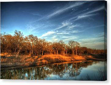Reflections Canvas Print by Kimberly Danner