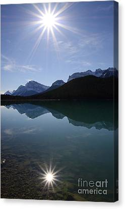 Reflections Of Nature Canvas Print - Reflections Of Nature by Bob Christopher