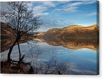 Reflections On Loch Lomond Canvas Print