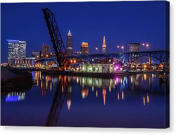 Reflections On The River Canvas Print by At Lands End Photography