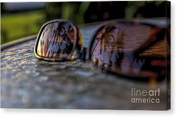 Reflections Canvas Print by Peggy Hughes