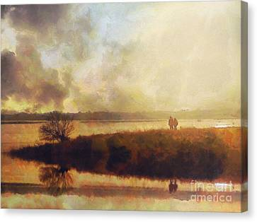Storm Canvas Print - Reflections by Pixel Chimp
