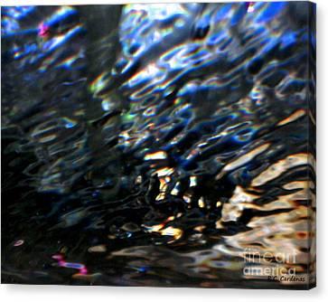 Reflections Canvas Print by Rebecca Christine Cardenas