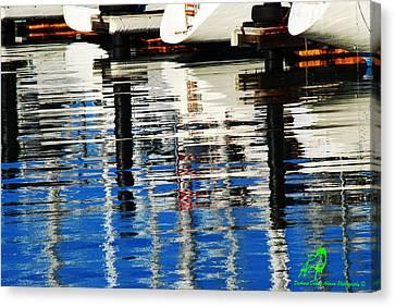 Reflections Sausalito California Canvas Print