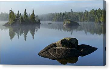 Reflections Canvas Print by Steve Schwarz