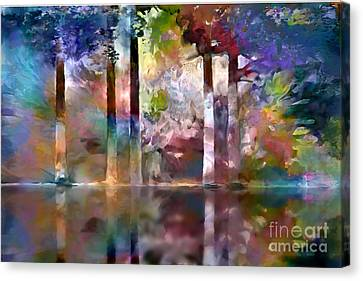 Reflections Canvas Print by Ursula Freer