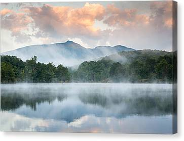 Western North Carolina Canvas Print - Reflective Elder by Mark VanDyke