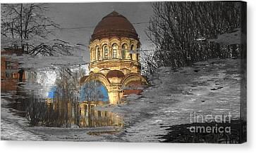 Reflekt Spring Canvas Print by Yury Bashkin