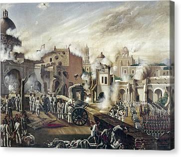 Reform Canvas Print - Reform War Guadalajara by Granger