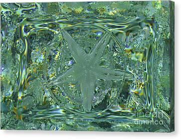 Refraction Rectangle Landscape Canvas Print