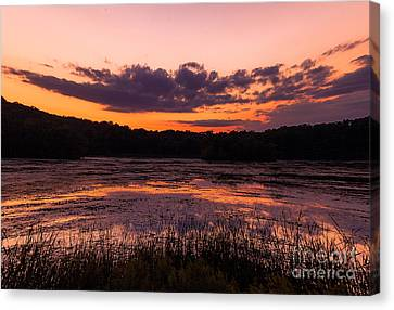 Canvas Print featuring the photograph Refractions by Jason Naudi Photography