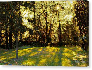 Dappled Light Canvas Print - Refrectory by Terence Morrissey