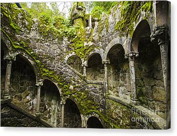 Regaleira Initiation Well 4 Canvas Print