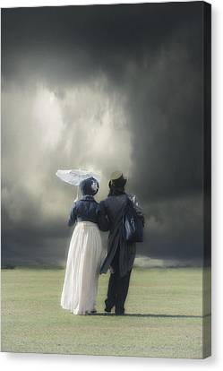 Regency Couple Canvas Print by Joana Kruse