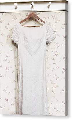 Regency Gown Canvas Print
