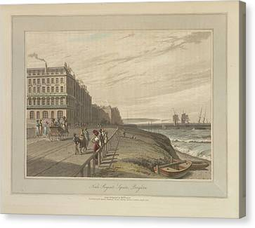 Regent's Square Canvas Print by British Library