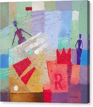 Regina Canvas Print by Lutz Baar
