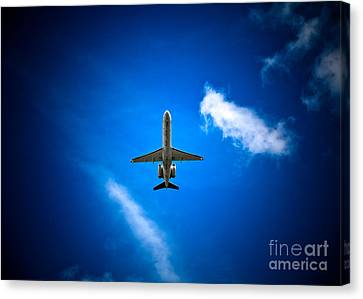 Regional Jet Canvas Print