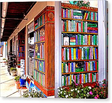 Rehoboth Beach Browseabout Books Canvas Print
