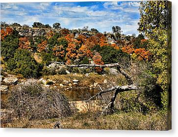 Brown Ranch Trail Canvas Print - Reimer's Ranch 4 by Judy Vincent