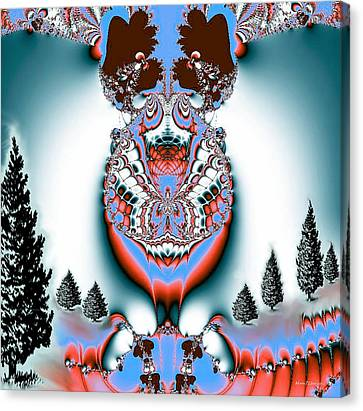 Reindeer Blues Canvas Print
