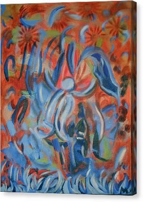 Rejoice Canvas Print by Aisha Lumumba