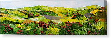 Rejoice Once Again Canvas Print by Allan P Friedlander