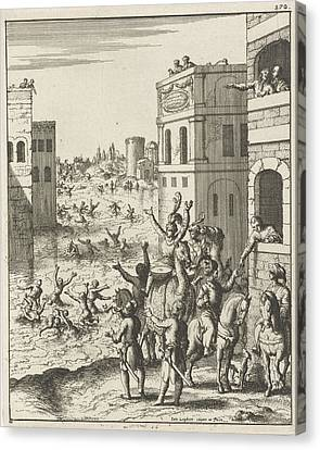 Rejoicing Of The People In Cairo, Egypt, Print Maker Jan Canvas Print