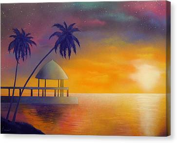 Relax Canvas Print by Ismael Paint