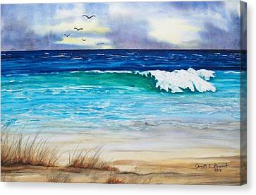 Relax Canvas Print by Jeanette Stewart