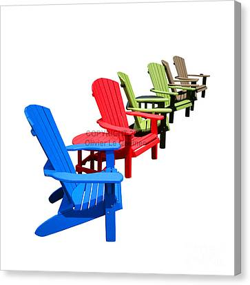 Relax Canvas Print by Olivier Le Queinec