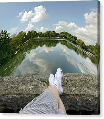 Relax Canvas Print by Steven  Michael