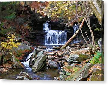 Relaxing Fall Canvas Print