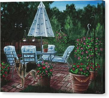 Relaxing Place Canvas Print by Anastasiya Malakhova