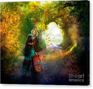 Release Canvas Print by Aimee Stewart