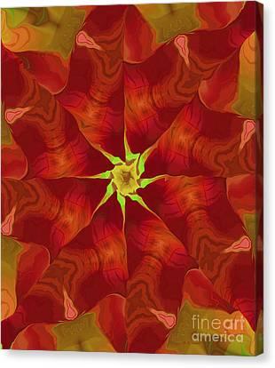 Release Of The Heart Canvas Print by Deborah Benoit