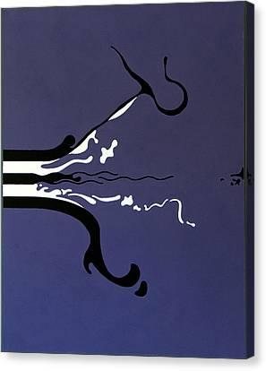 Release Canvas Print by Thomas Gronowski
