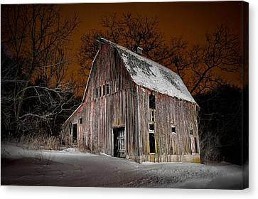 Relic Of Jo Daviess County I Canvas Print by Tom Phelan